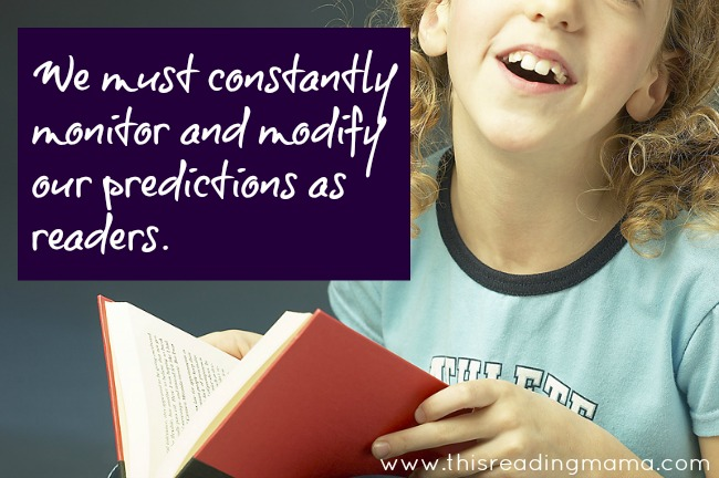 Monitor and Modify Predicitons While Reading | This Reading Mama