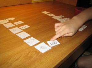 short u word family sort from Words Their Way
