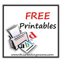 photo of FREE Printables by This Reading Mama