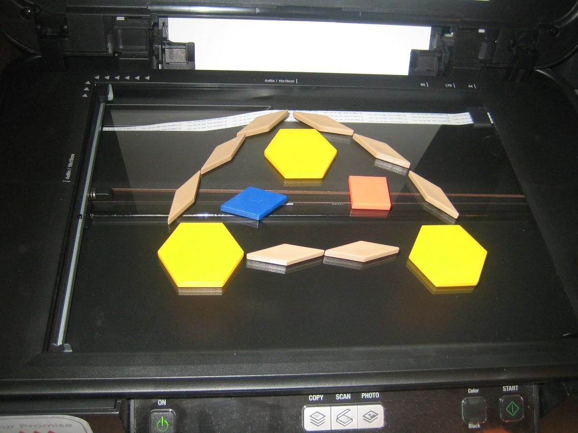 DIY Pattern Block Mats