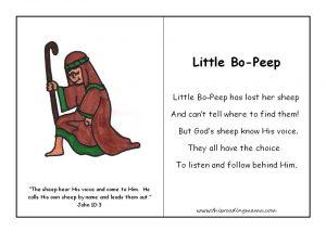 FREE Christian Nursery Rhymes