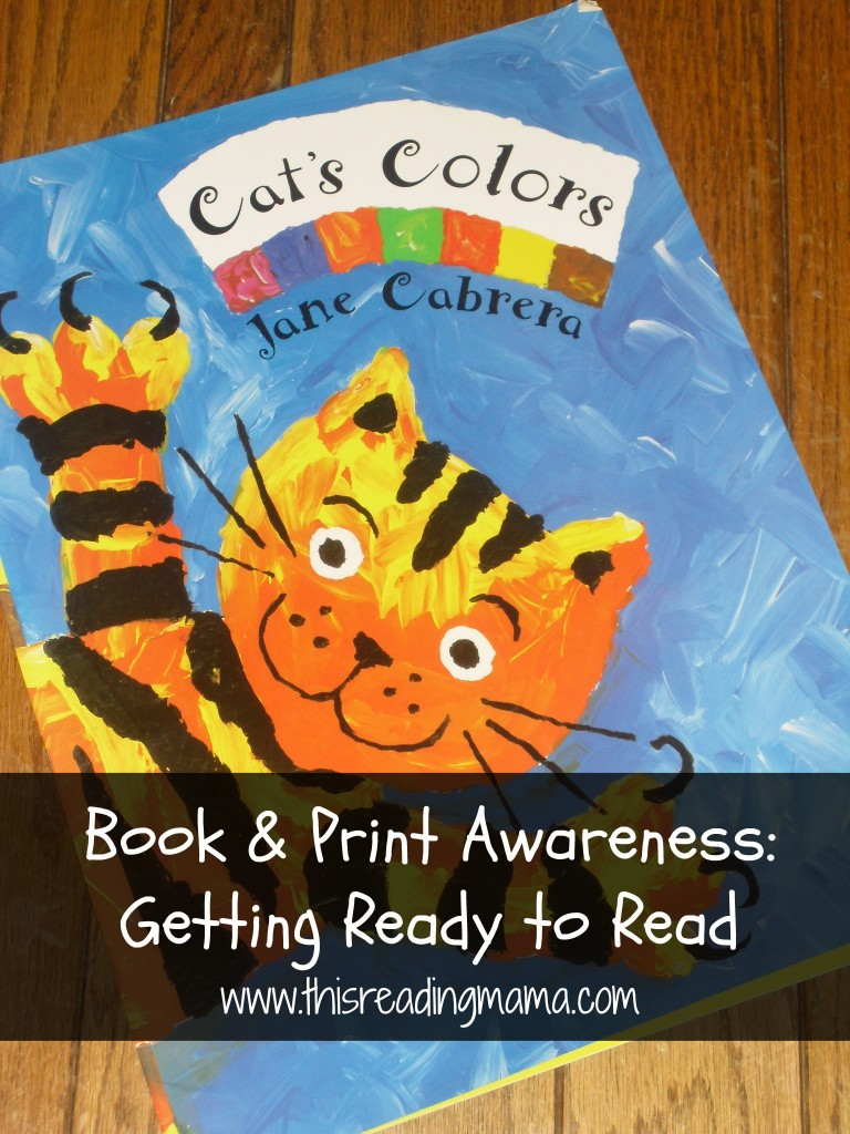 photo of Book and Print Awareness- Getting Ready to Read