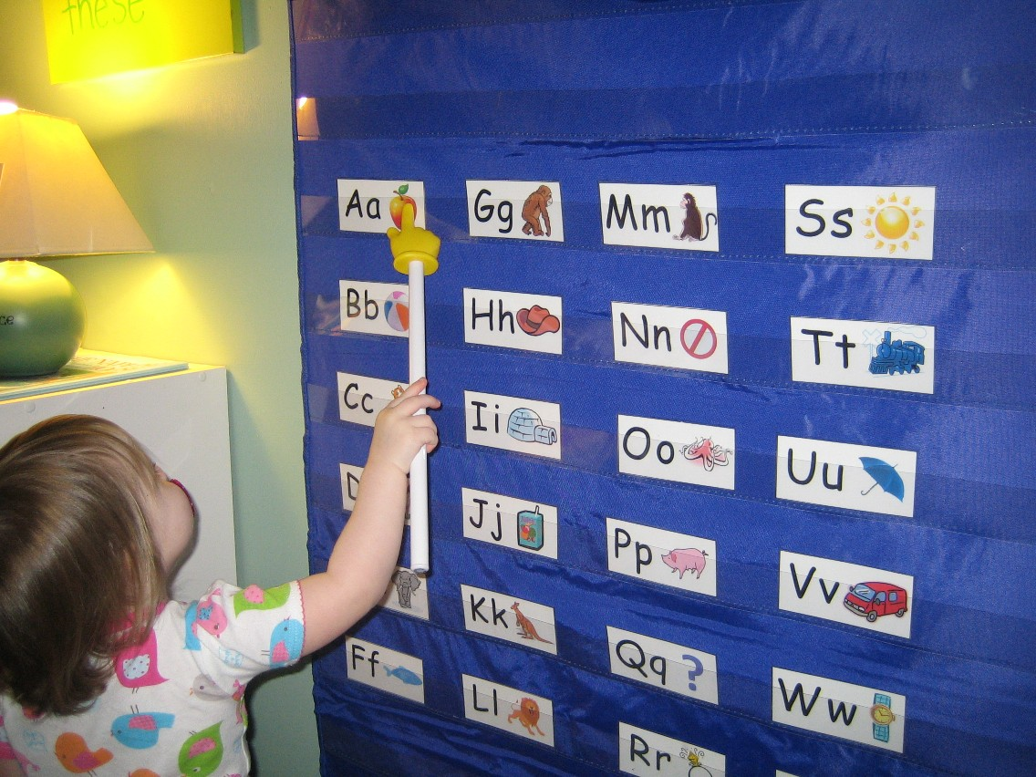 Free Alphabet Printable For The Pocket Chart