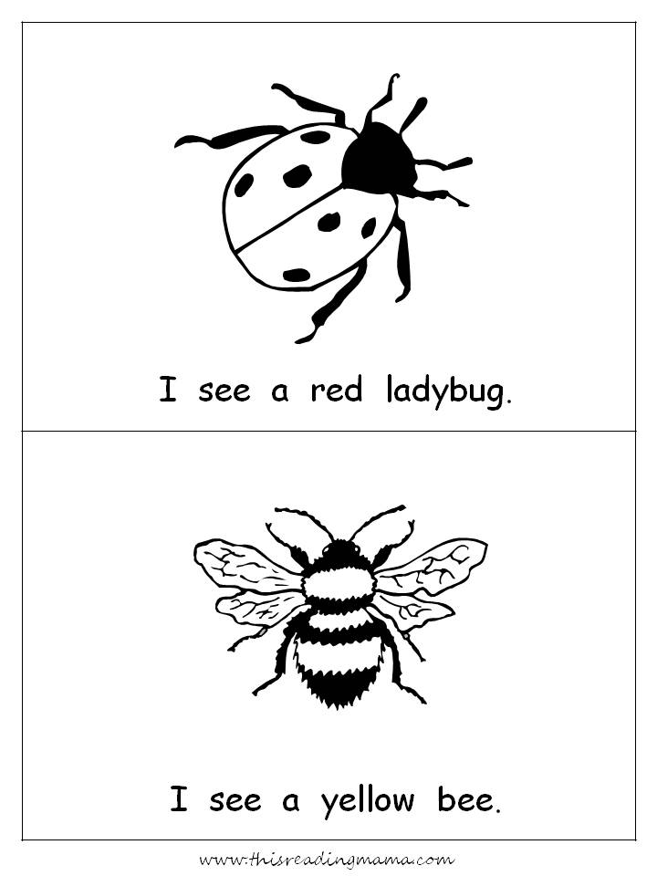 I Is For Insect Free Printables Included This Reading Mama
