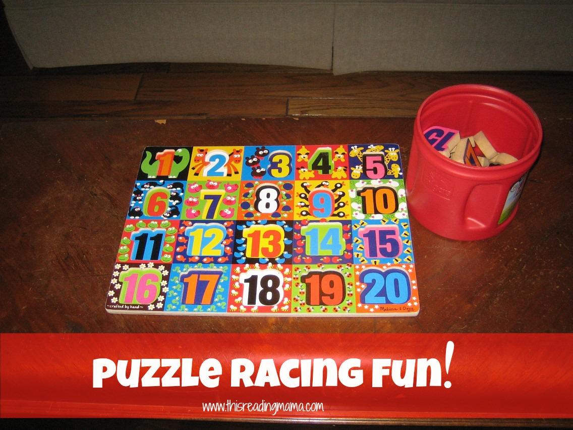 Puzzle Racing Fun