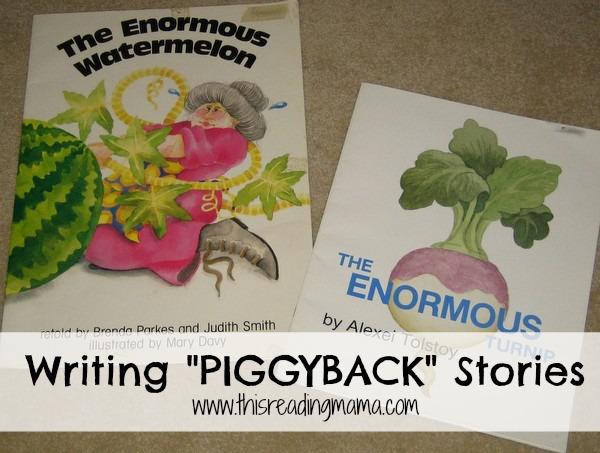photo of  Writing Piggyback Stories