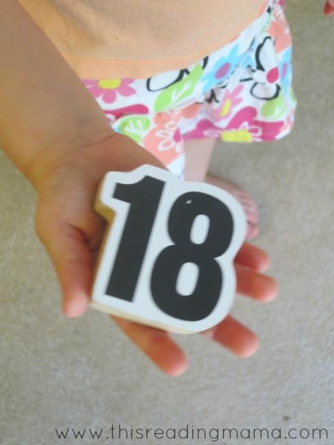 naming numbers 1 through 20