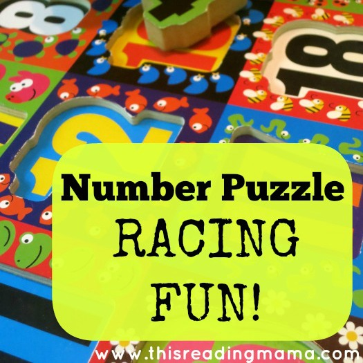 number puzzle race
