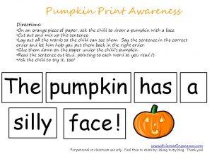 Seasonal Print Awareness FREE Printables