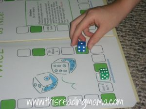 long i board game with dice