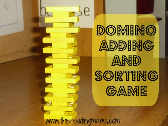 Domino Adding and Sorting Game