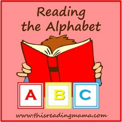 Reading the Alphabet | This Reading Mama