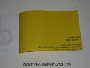 back of printable book