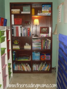 bookshelf for schoolroom