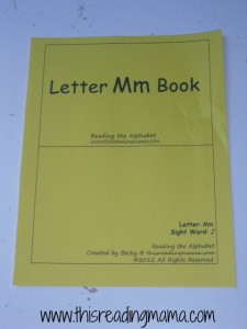 cover of printable book