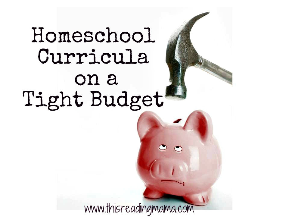 homeschool curricula on a tight budget