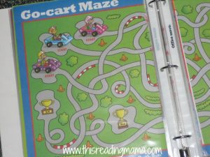 mazes and puzzles, notebooks for writing