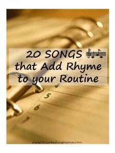 rhyme, schedule