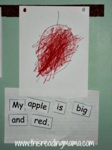 Apple Print Awareness activity