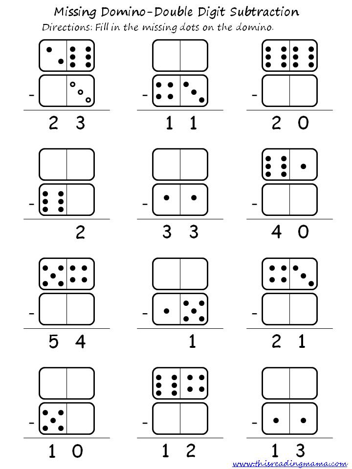 simple double digit addition worksheets - 720×960