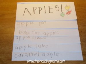 apple flip chart-how you use apples
