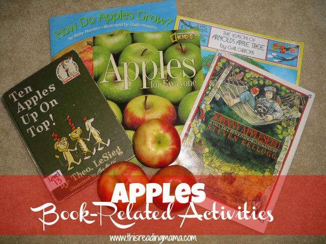 apples-book related activities