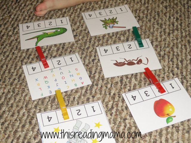 Reading the Alphabet Letter A (Lesson 6) - This Reading Mama