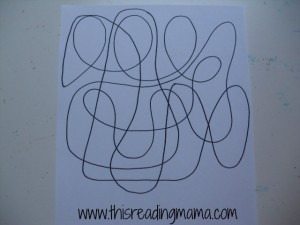 drawing-squiggles-for-sight-word-mosaic