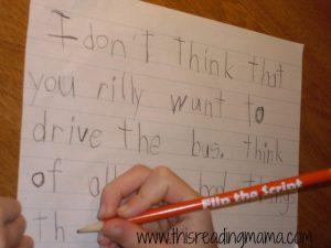 persuasive writing sloppy copy