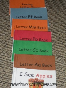 Early Emergent Readers from Lessons 1-6