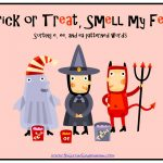 Trick or Treat, Smell My Feet Word Sort