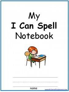 I Can Spell Notebook Cover