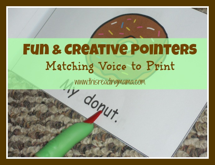 fun and creative pointer-matching voice to print