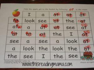 word mazes for preschoolers