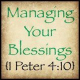 Managing Your Blessings