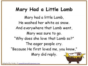 picture regarding Mary Did You Know Lyrics Printable titled Nursery rhymes remix lyrics
