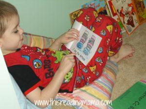 quiet reading time