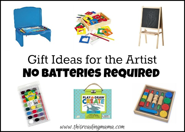 Gift Ideas for Kids - The Artist - No Batteries Required