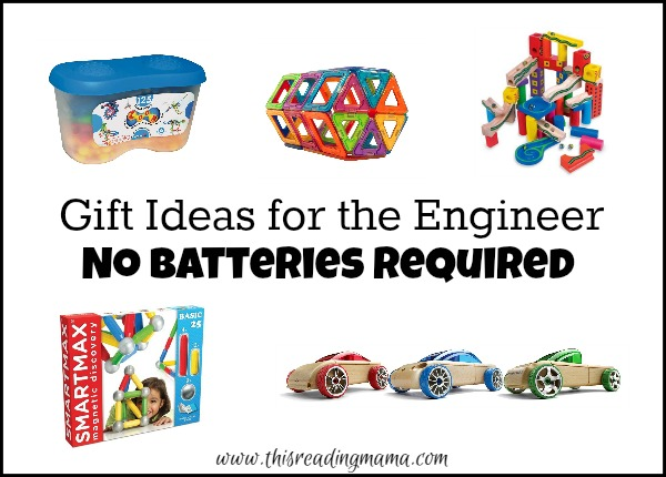 Gift Ideas for the Engineer - No Batteries Required