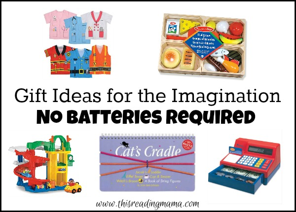 Gift Ideas for the Imagination - No Batteries Required