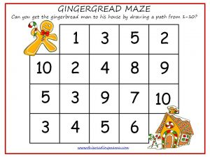 Gingerbread Mazes
