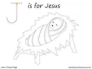 J is for Jesus Tracer Pg