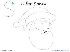 Free Santa Tracing Page