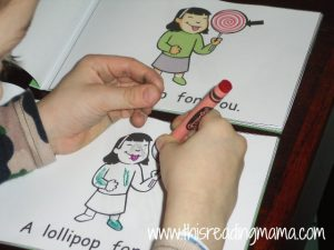 coloring Letter L Book