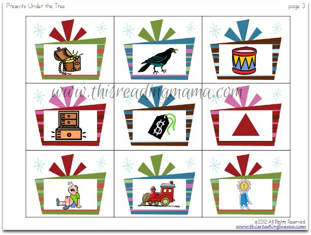 consonant blends - 20 picture cards total