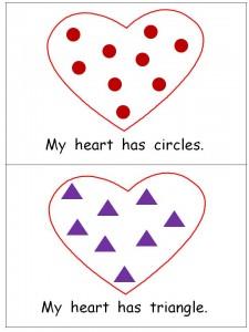 """Free Valentines Emergent Reader- """"My Heart"""""""