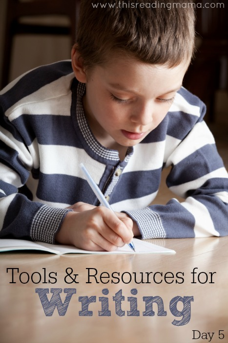 Tools and Resources for Writing (Day 5) | This Reading Mama