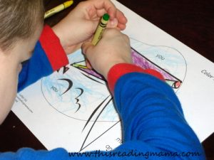 photo of Color by sight word for preschoolers