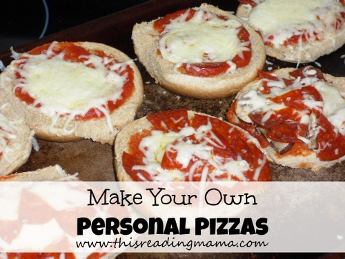 Make Your Own Personal Pizzas | Simple Family Dinner Blog Hop