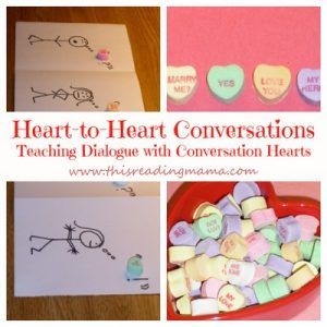 Teaching Dialogue with Conversation Hearts
